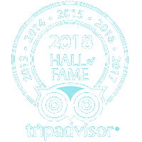 Trip Advisor Hall of Fame & 2013-2018 Certificates of Excellence
