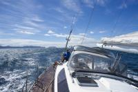 Helsal IV sailing in Storm Bay Tasmania