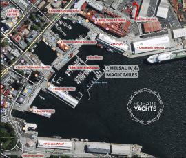 Hobart Yachts Location