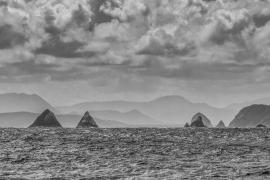 East Pyramids at the entrance to Port Davey, South West Tasmania