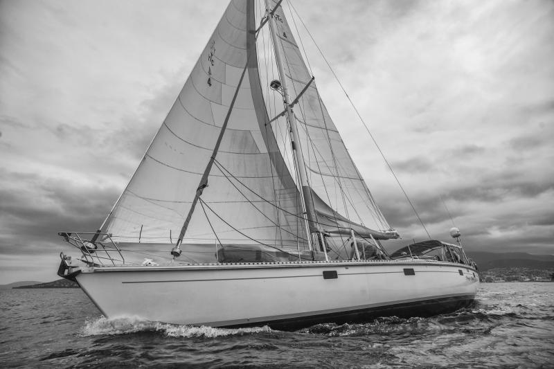Magic Miles match-racing on the Derwent River, Hobart
