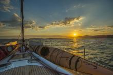 D'Entrecasteaux Channel on our way to Recherche Bay